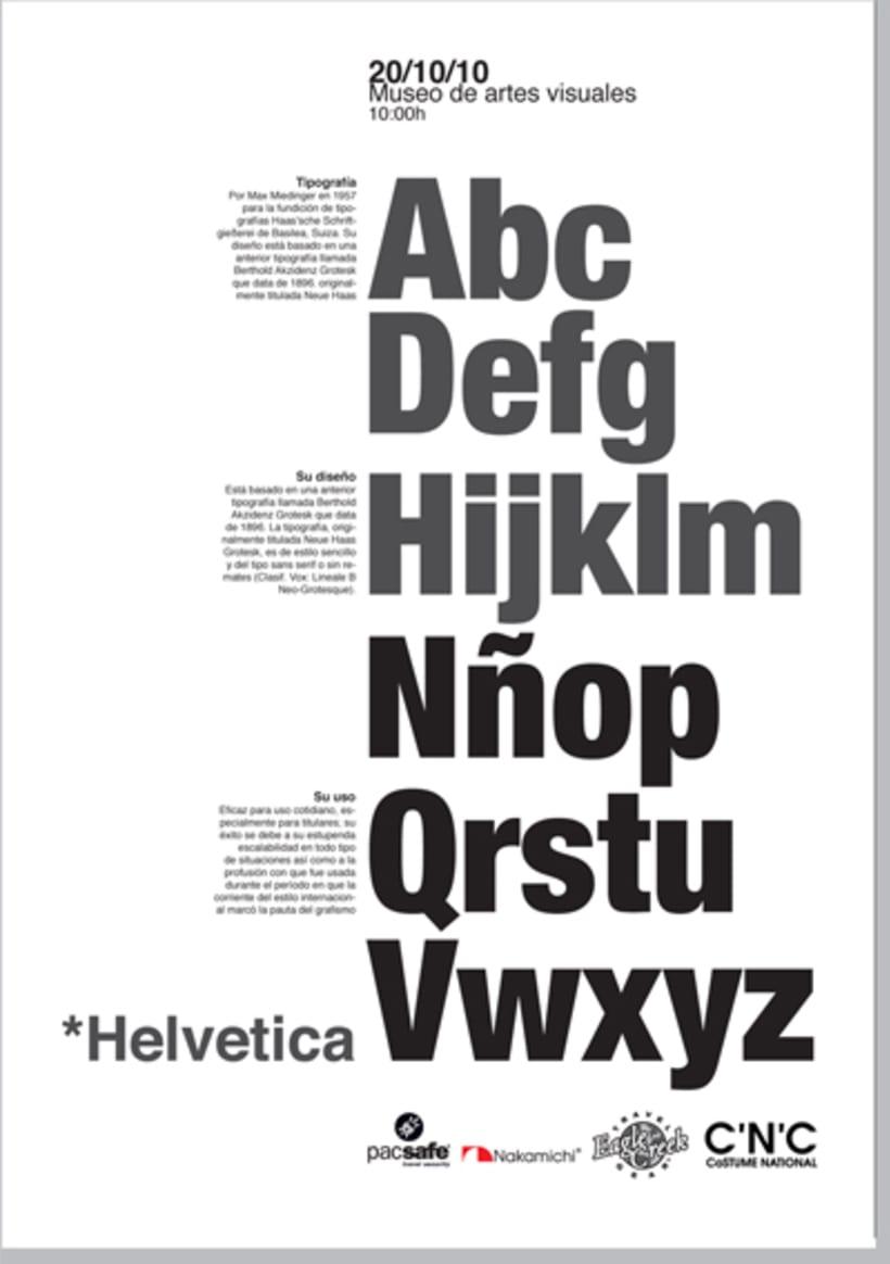 Posters Helvetica 3
