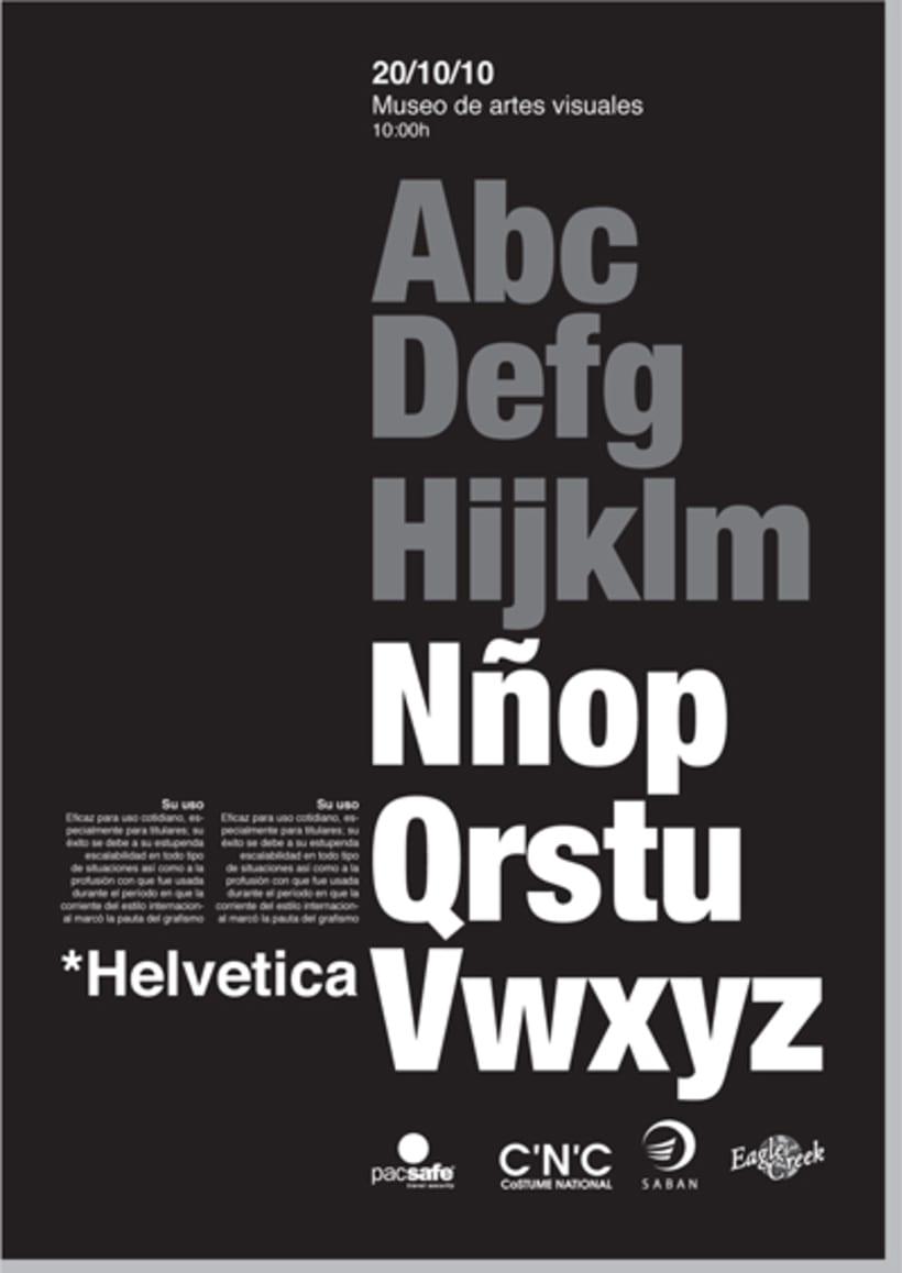 Posters Helvetica 2