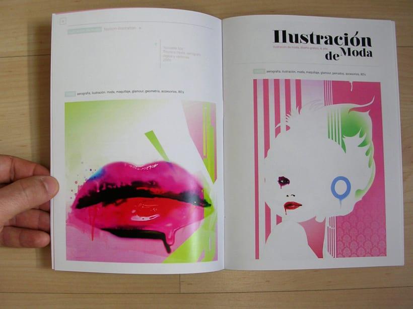 pequeño catálogo. ilustración y + 7