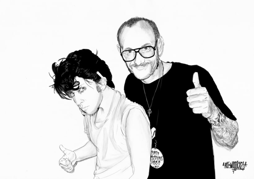 Joe Calderone & Terry Richardson 1