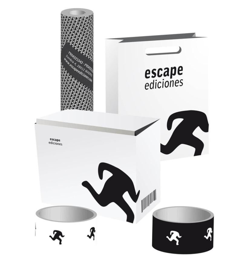 Imagen corporativa Escape Ediciones 4