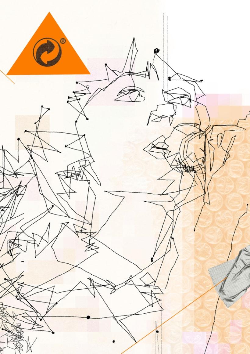 muestra de ilustraciones. técnica mixta 9