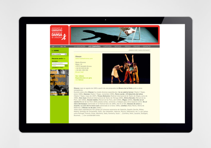 Associacio professional de companyies de dansa de catalunya 2