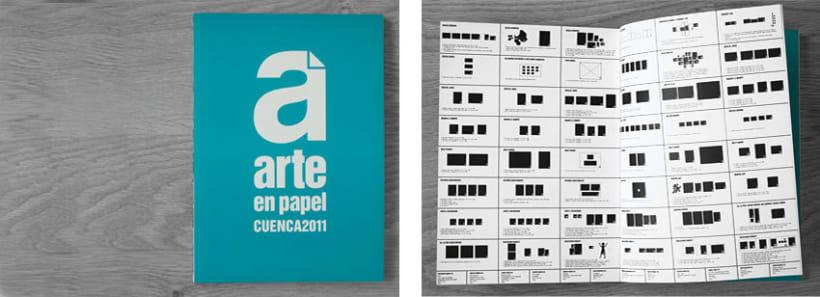 Catálogo Arte en Papel Cuenca 2011 2
