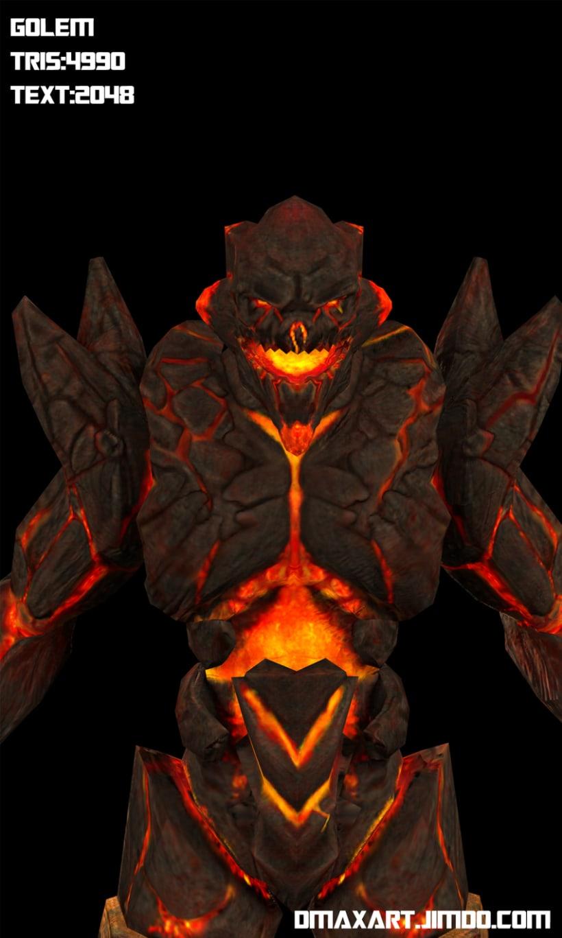 Golem de  los fuegos del infierno 2