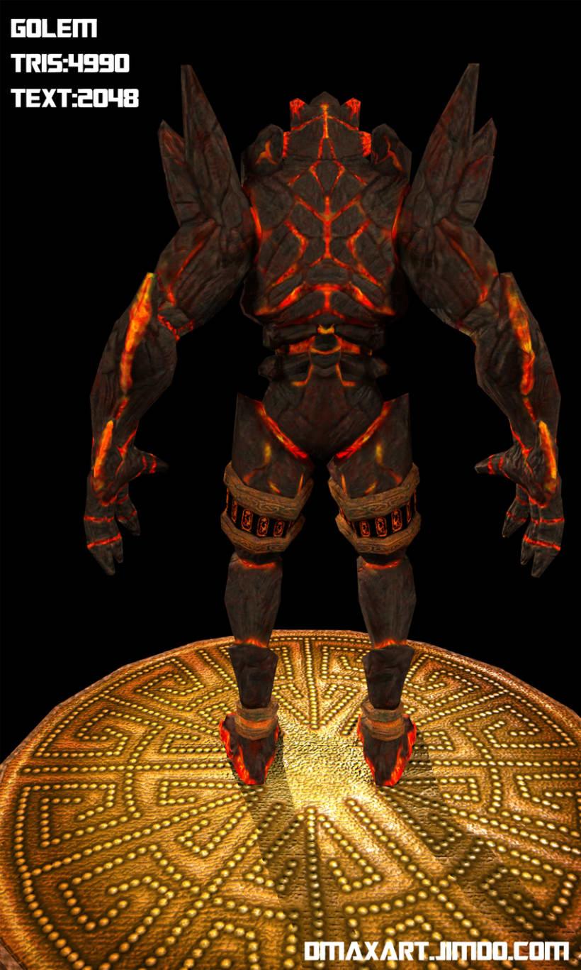 Golem de  los fuegos del infierno 6