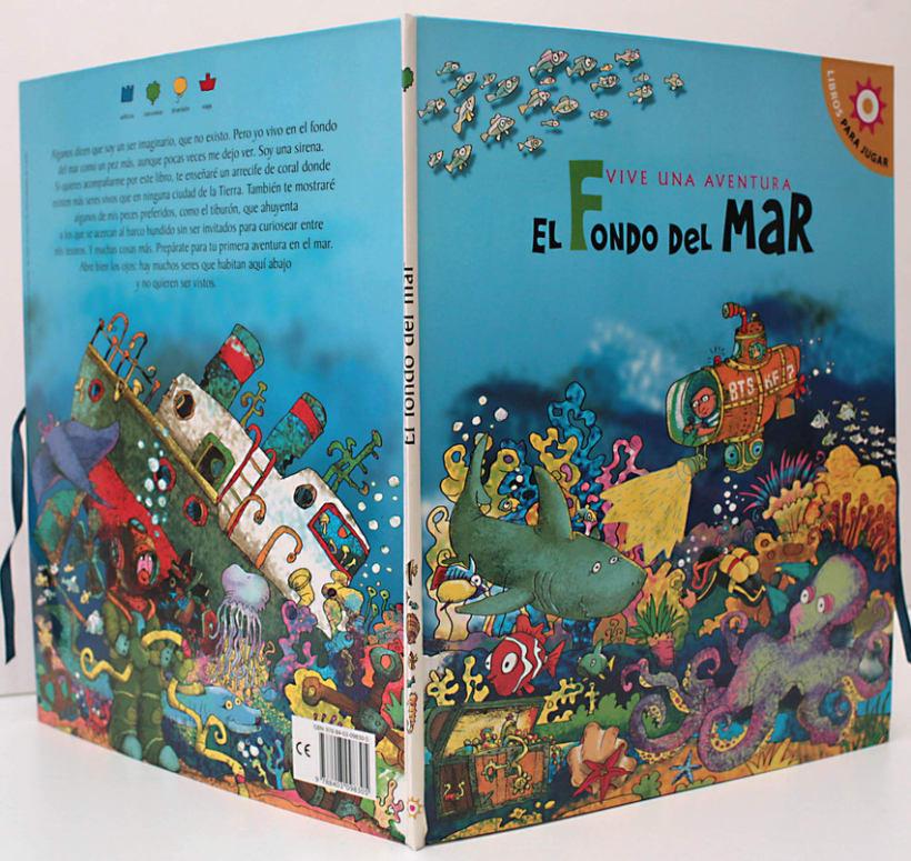 El fondo del Mar/ Colección Libros para jugar/ pop-up 11