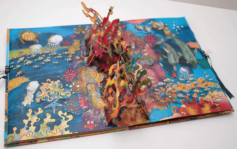 El fondo del Mar/ Colección Libros para jugar/ pop-up 9