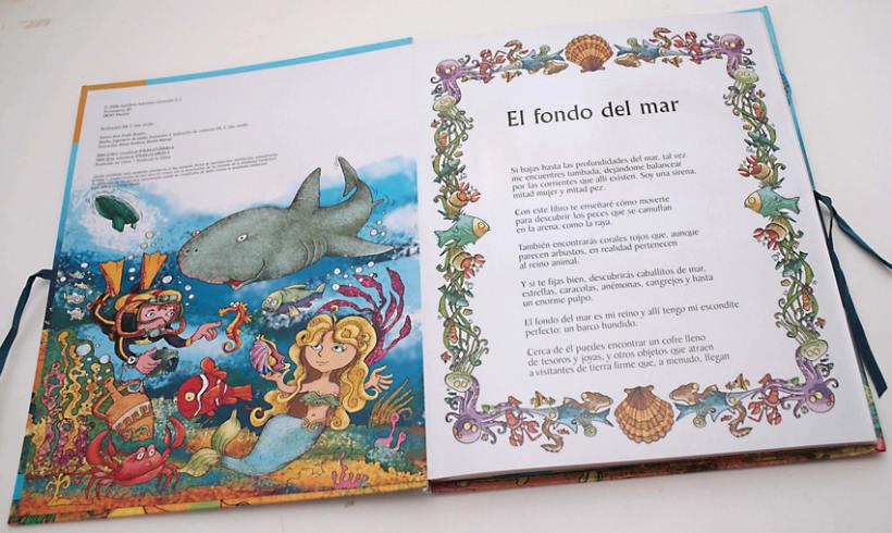 El fondo del Mar/ Colección Libros para jugar/ pop-up 1
