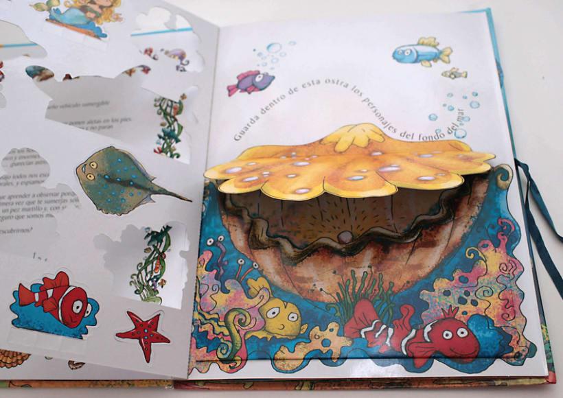 El fondo del Mar/ Colección Libros para jugar/ pop-up 2