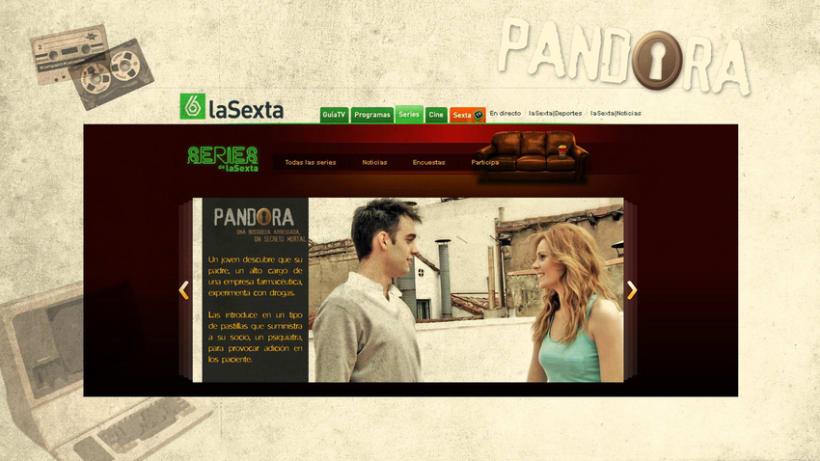 Pandora - Diseño 3