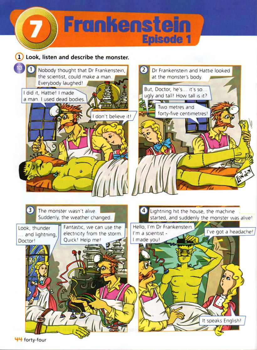 Comics 1/ Libros de texto 16