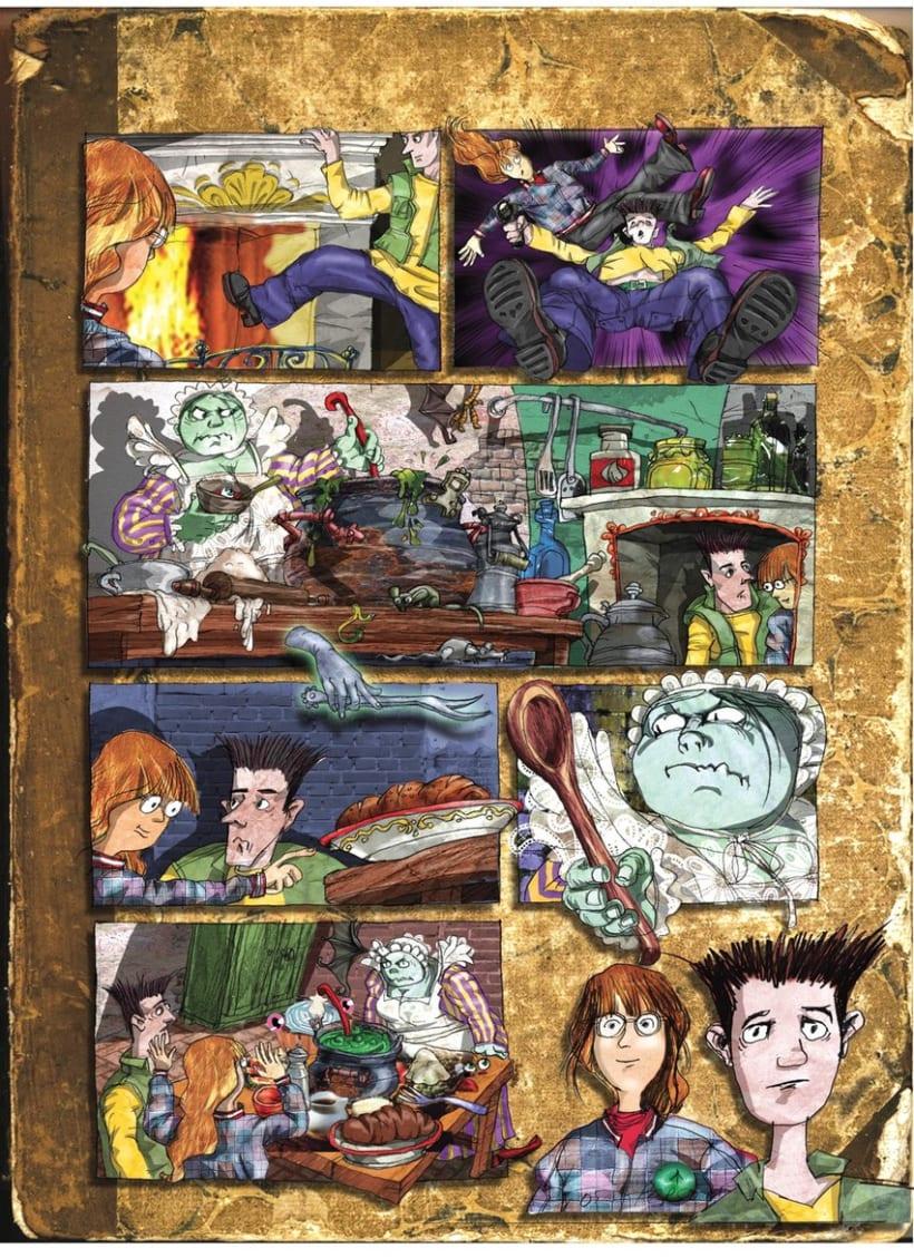 Comics 2/ Libros de texto 3
