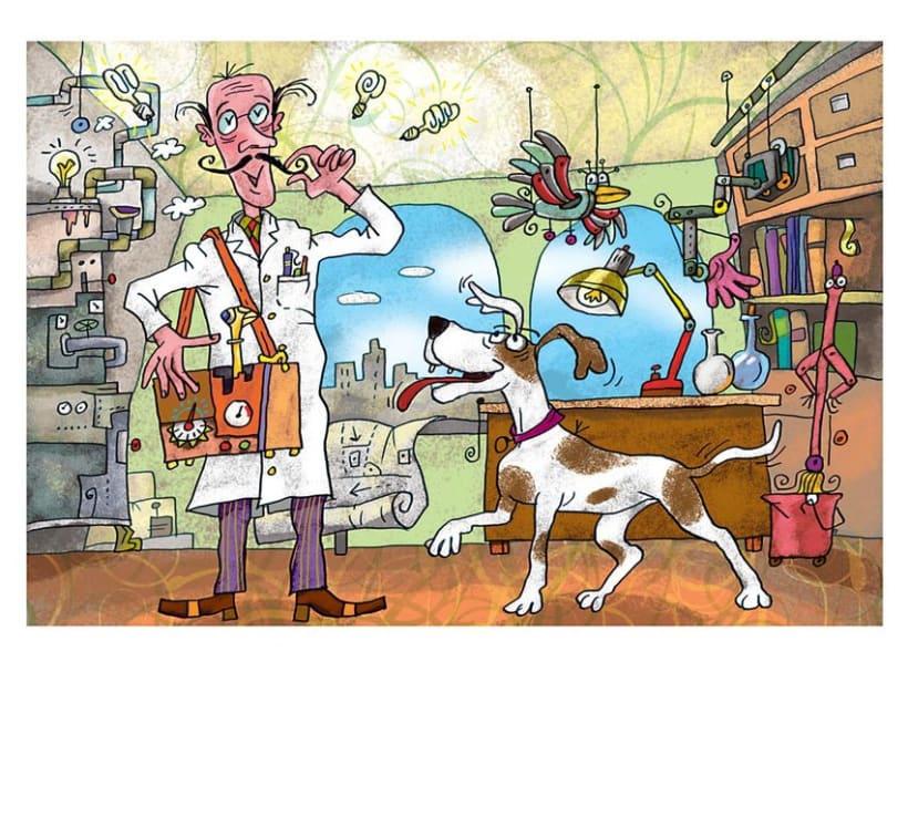 Ilustraciones Ciencias 1