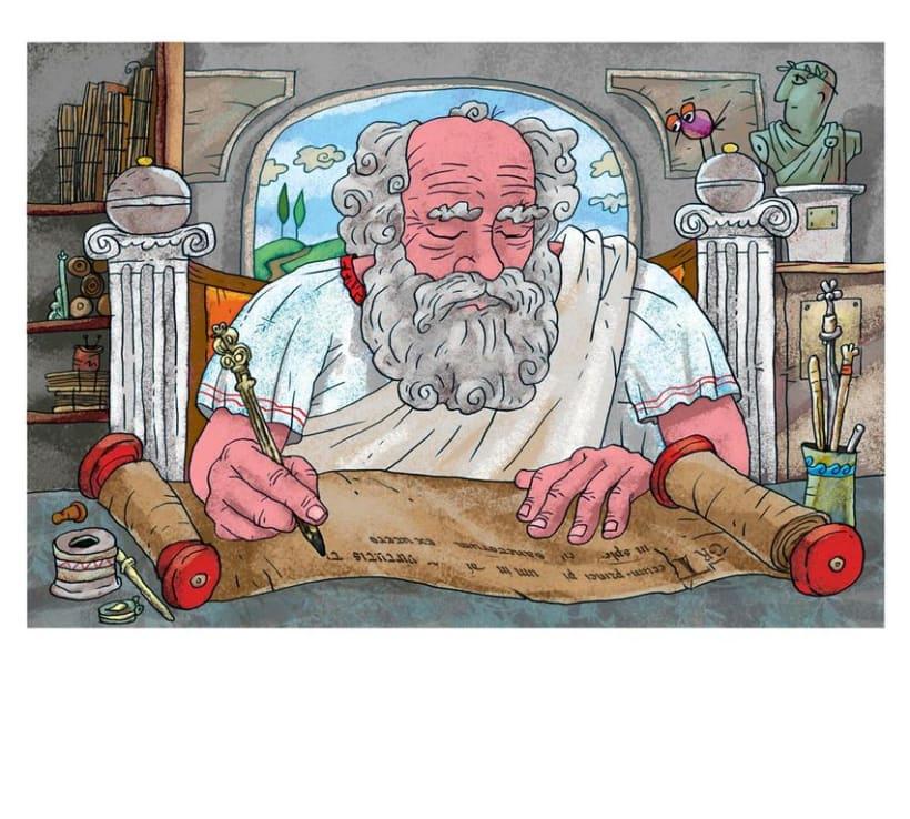 Ilustraciones Ciencias 8