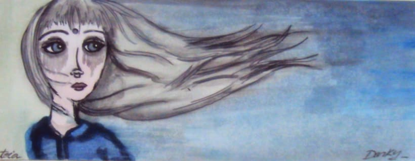 the ninfas in aquarelle 2