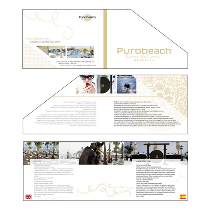 Folleto informativo Puro Beach 2