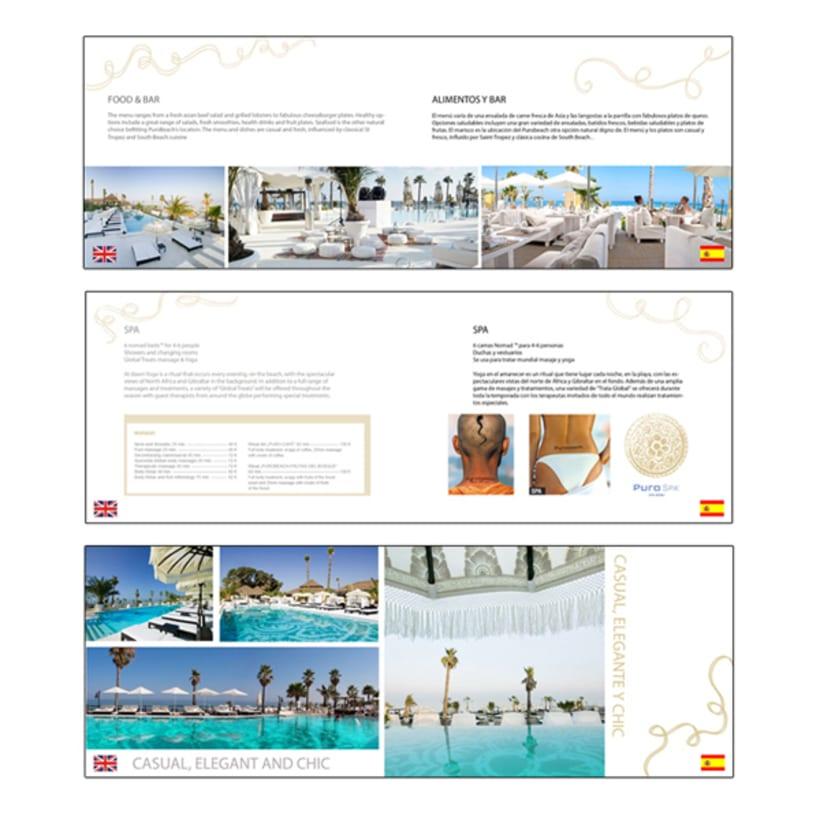 Folleto informativo Puro Beach 3
