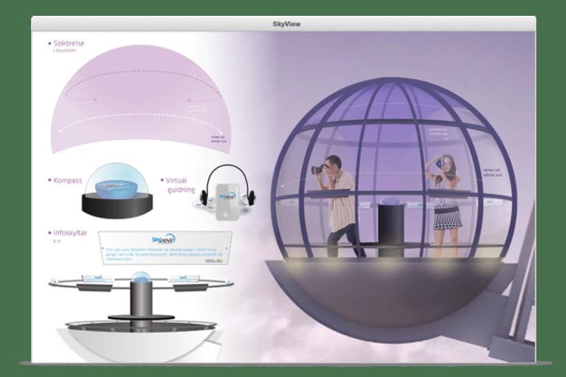 SkyView - Diseño de gondola 2