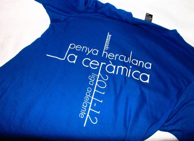 "T-shirt ""la cerámica"" 6"