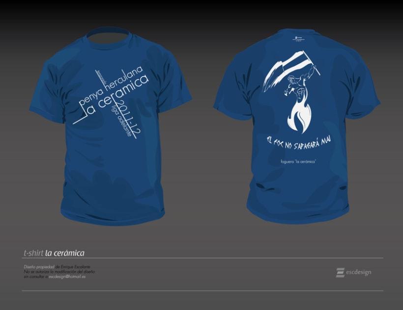"T-shirt ""la cerámica"" 2"