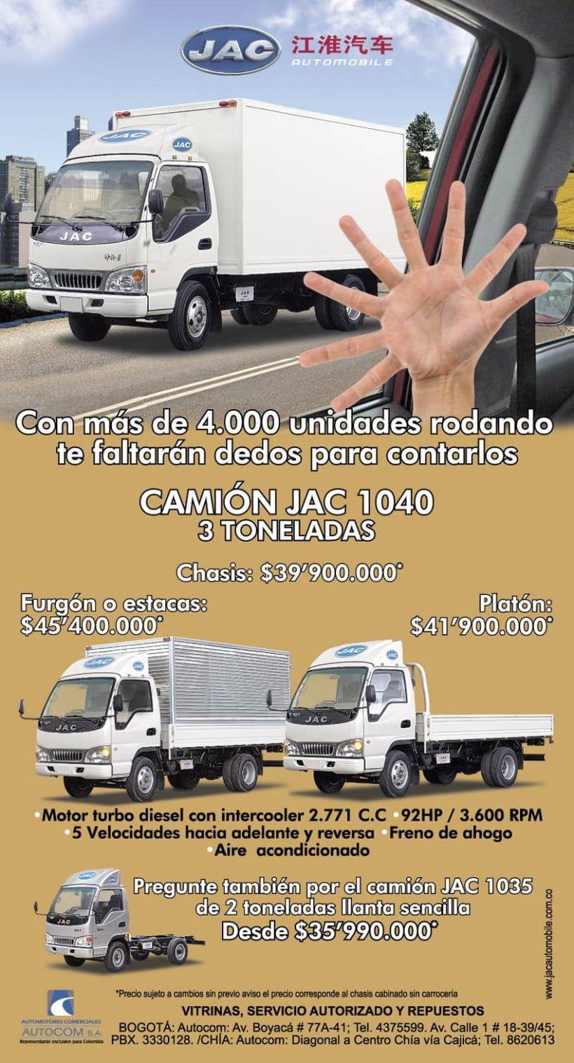 Publicidad AUTOCOM y KIA PLAZA 11