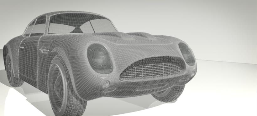 3D Aston Martin 3