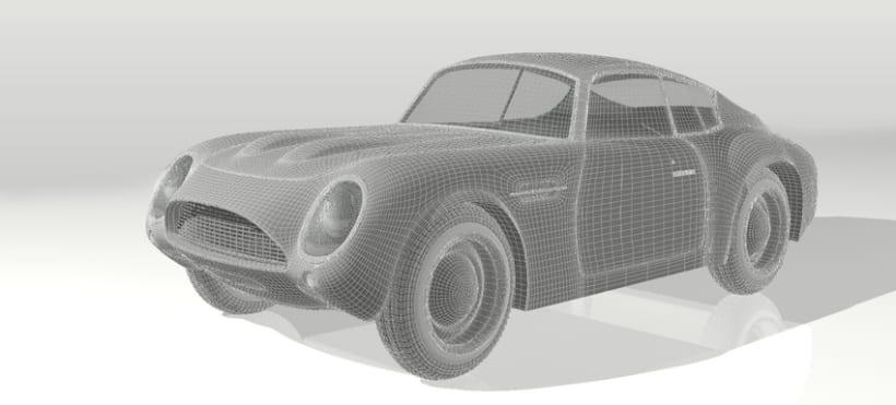 3D Aston Martin 5