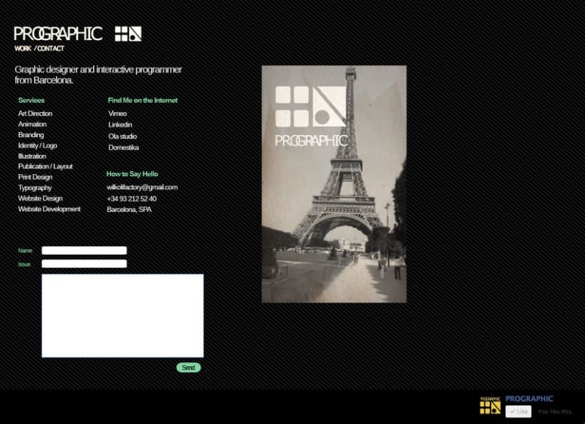 Website PROGRAPHIC 1