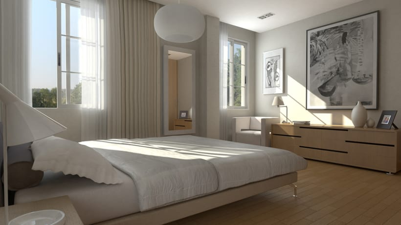 Interiores viviendas domestika for Interiores de viviendas