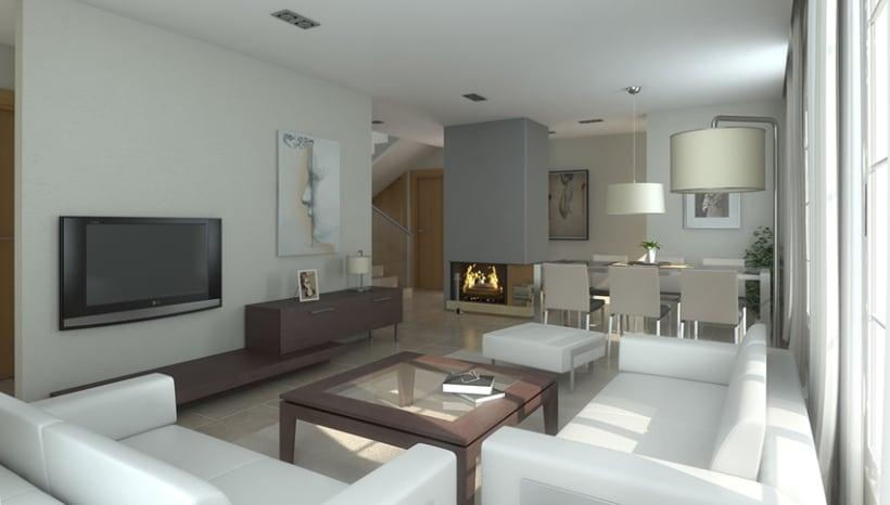 Interiores Viviendas 3