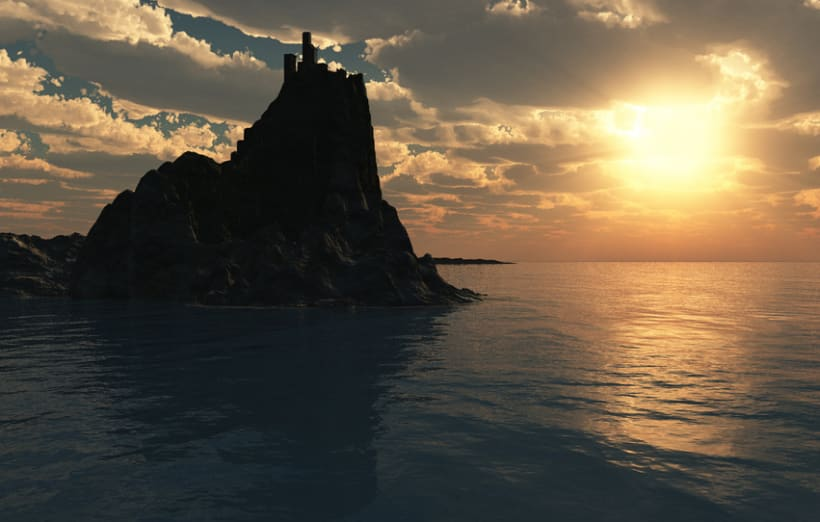 Torre al Mar (Tower to Sea) 1