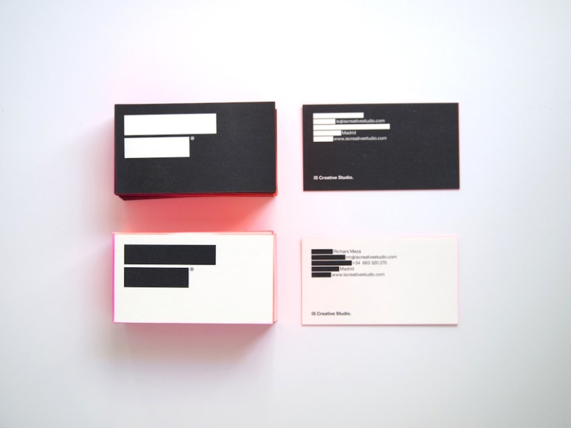 IS Creative Studio business cards 21