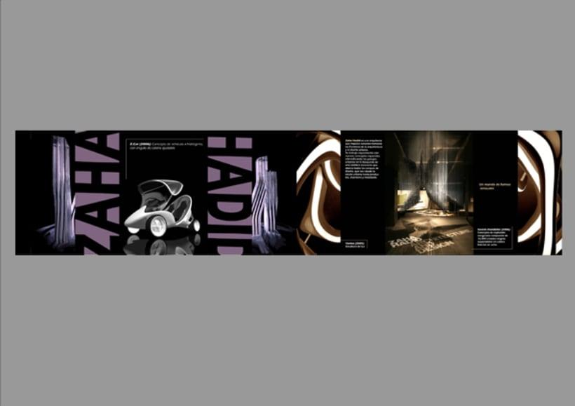 Folleto Zaha Hadid 1