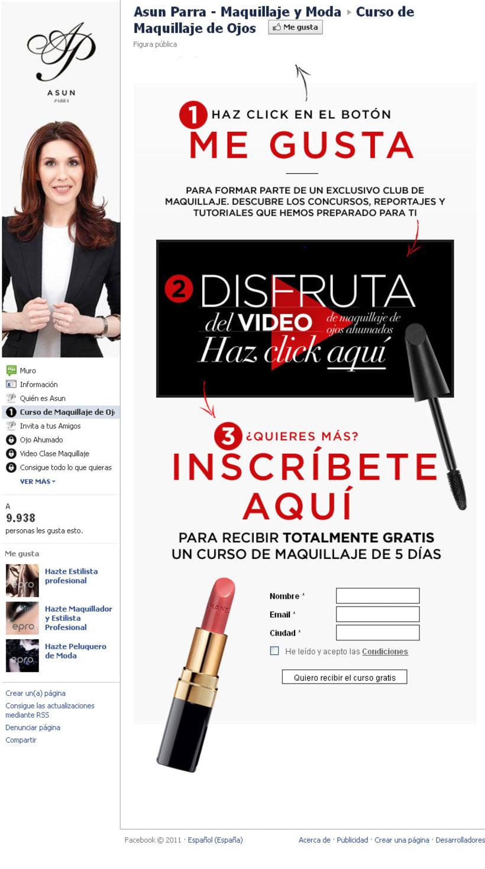 Facebook: Asun Parra - Maquillaje y Moda 2