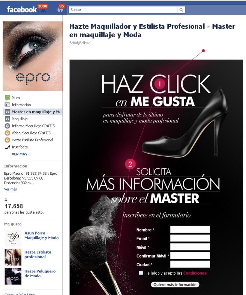 Facebook: Epro - Hazte Maquillador y Estilista Profesional 1