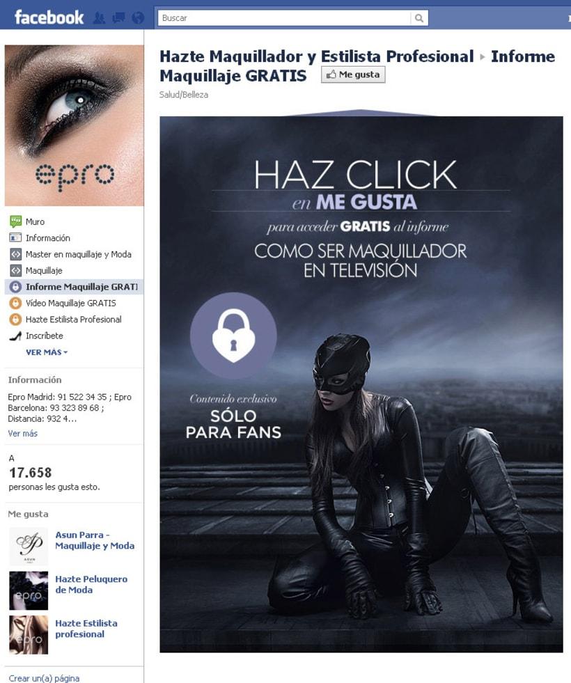 Facebook: Epro - Hazte Maquillador y Estilista Profesional 2