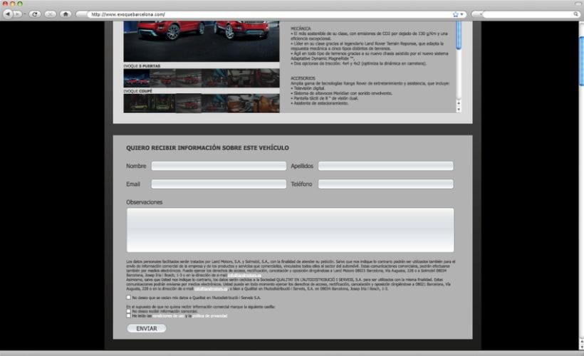 Web - Landing Page Range Rover 3