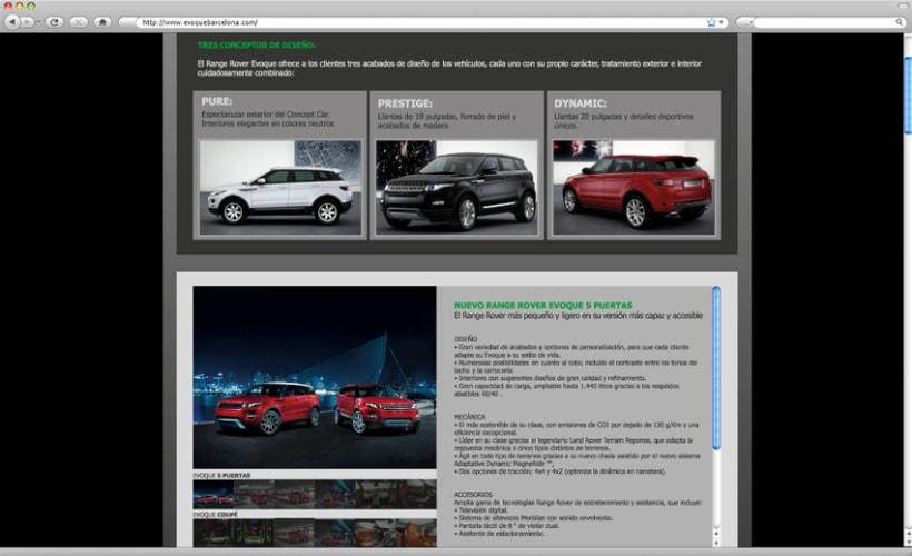 Web - Landing Page Range Rover 2