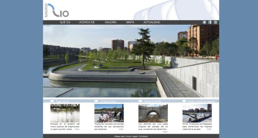 Web Madrid Río 2