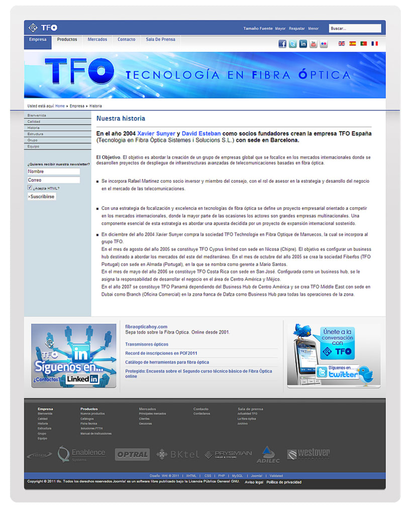 TFO (Technology Fiber Optic) 8