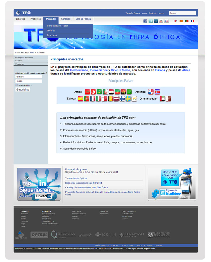 TFO (Technology Fiber Optic) 6