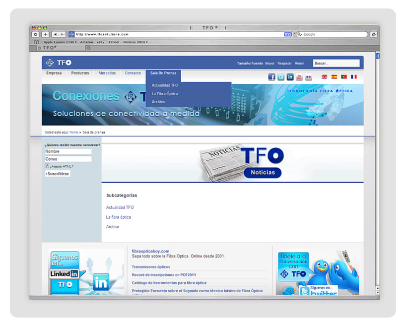 TFO (Technology Fiber Optic) 3