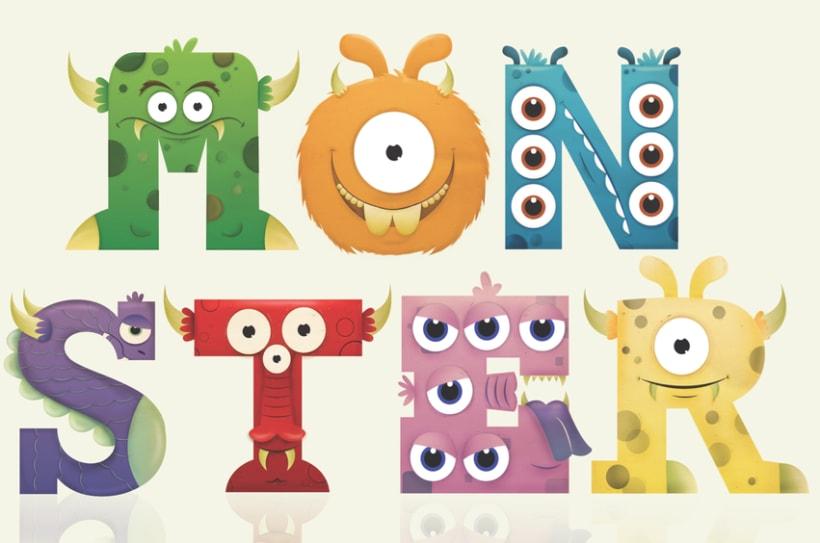 Monster alphabet 1