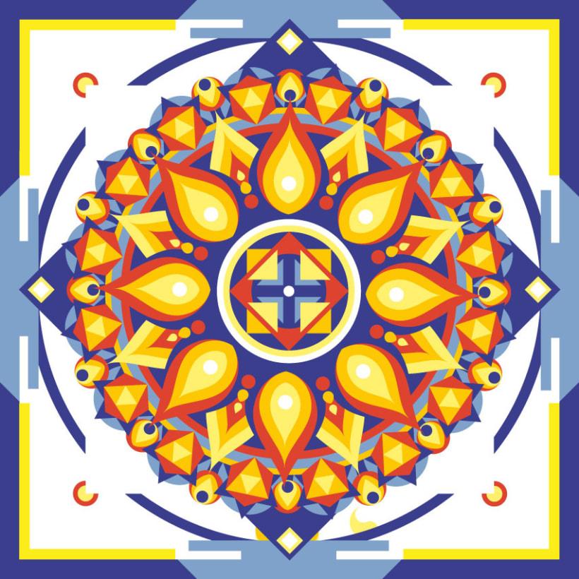 Geometric Mandala Meditation 1