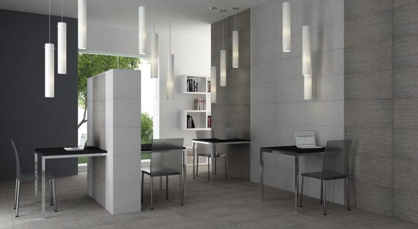 Infografias de ambientes para publicidad de cerámicas 1