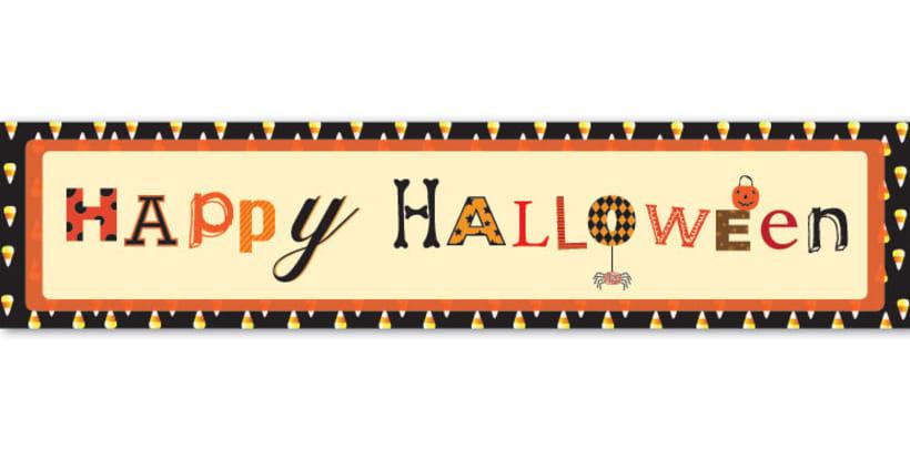 Decoraci n halloween domestika - Decoracion halloween para imprimir ...