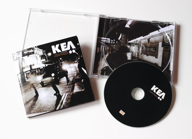 Diseño de Cd para el grupo Kea  2