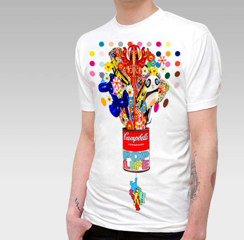 T-Shirt Pop 1