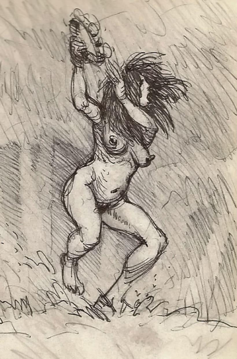 SketchBook (brujas) 5